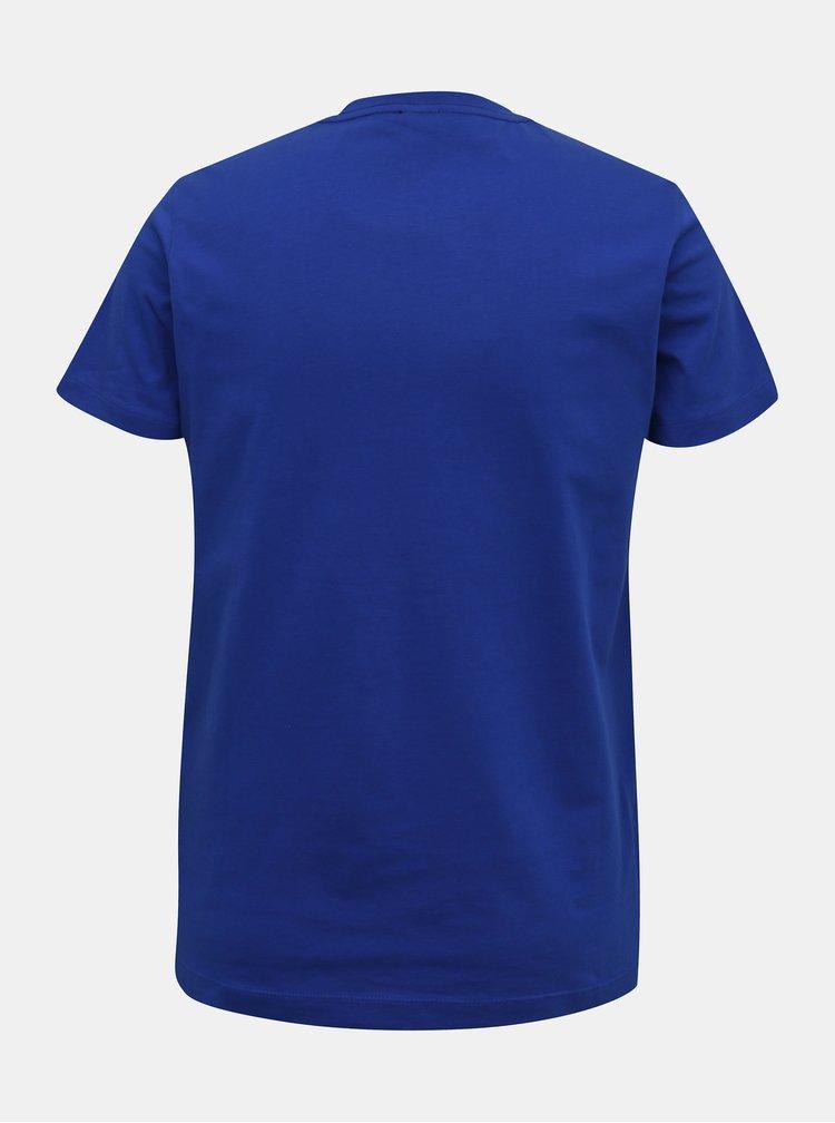 Modré pánské tričko Diesel