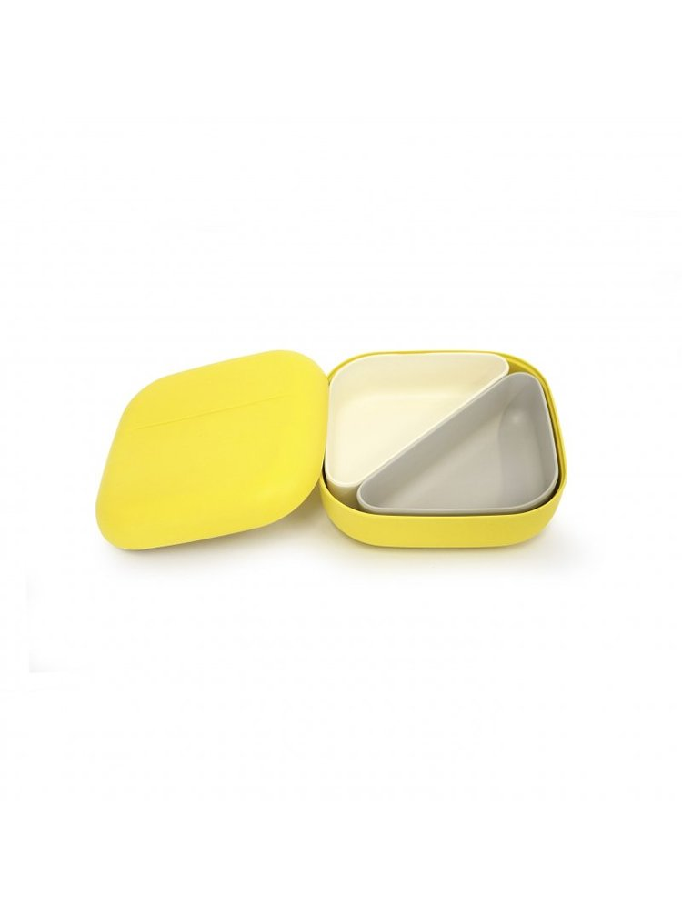 Ekobo Svačinový box s přihrádkami Lemon 1 ks