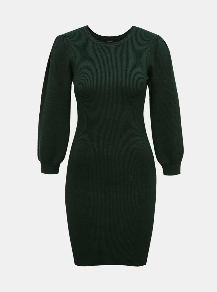 Rochii casual pentru femei VERO MODA - verde inchis