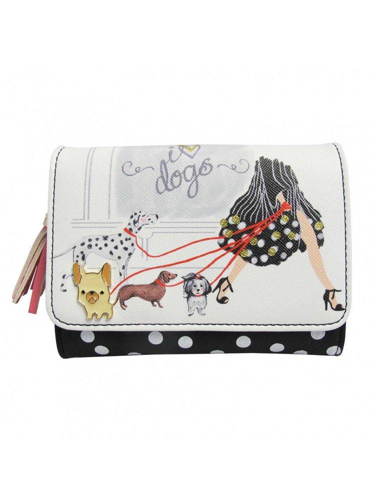 Disaster peněženka Keepsake I Love Dogs