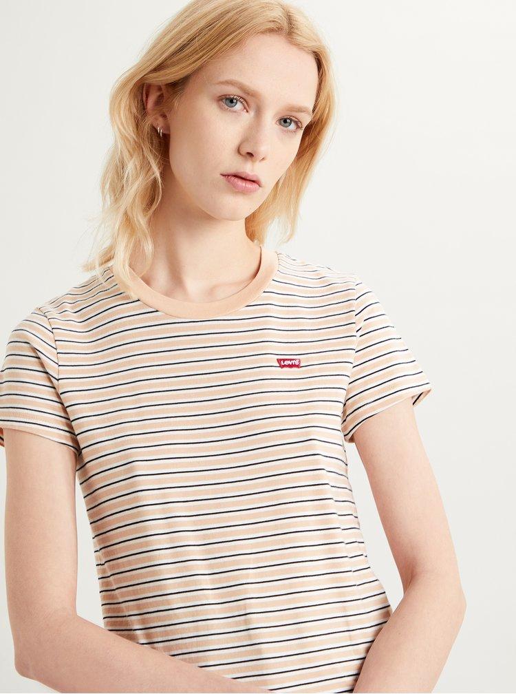 Tricouri pentru femei Levi's® - bej