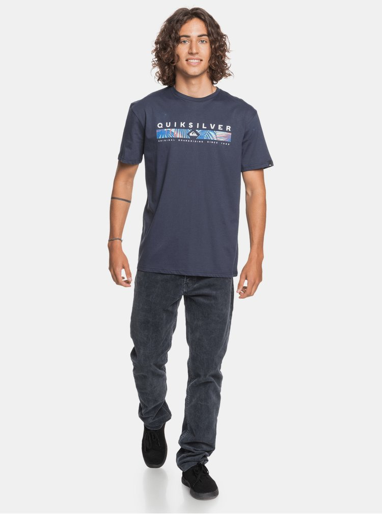 Tricouri pentru barbati Quiksilver - albastru inchis