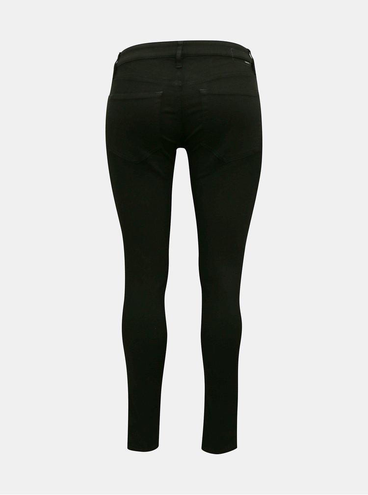 Skinny fit pentru femei Diesel - negru