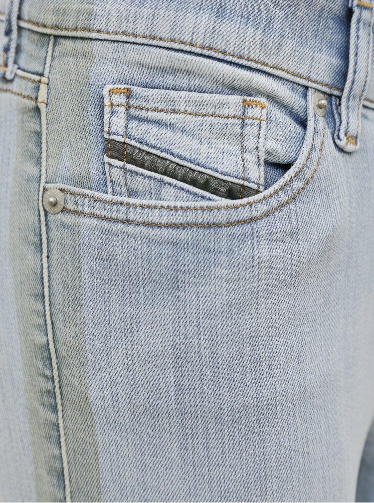 Skinny fit pentru femei Diesel - albastru deschis