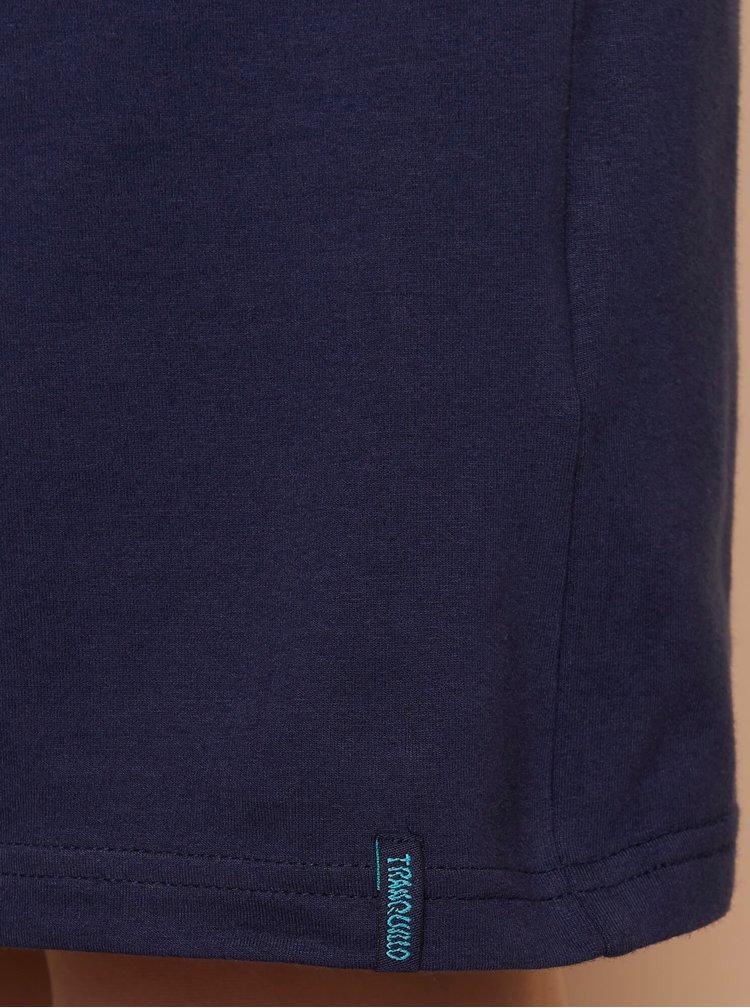 Tmavě modré šaty Tranquillo