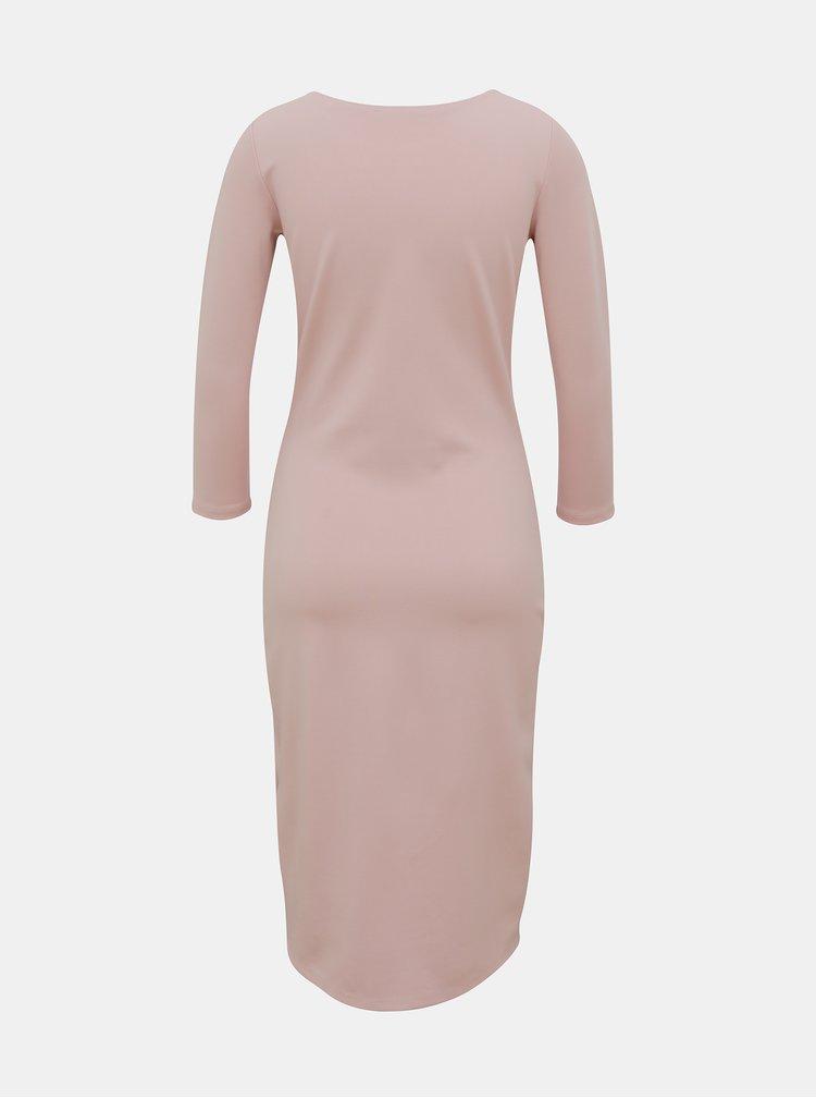 Rochii pentru femei ZOOT Baseline - roz deschis