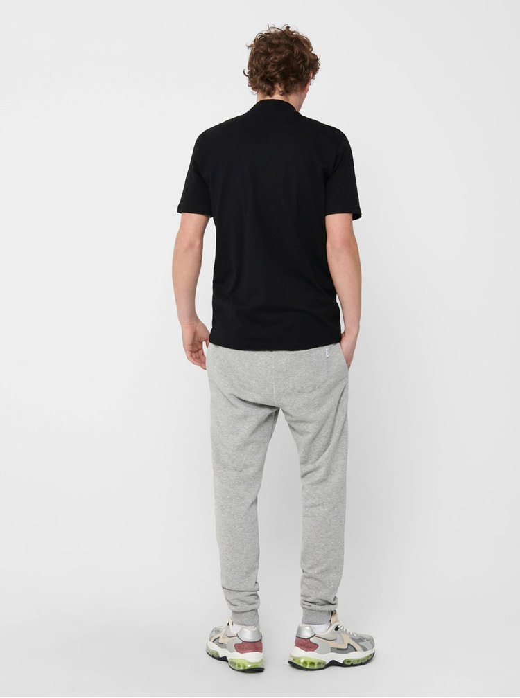 Pantaloni casual pentru barbati ONLY & SONS - gri