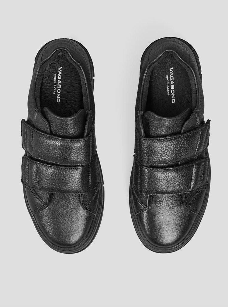 Černé dámské kožené tenisky Vagabond