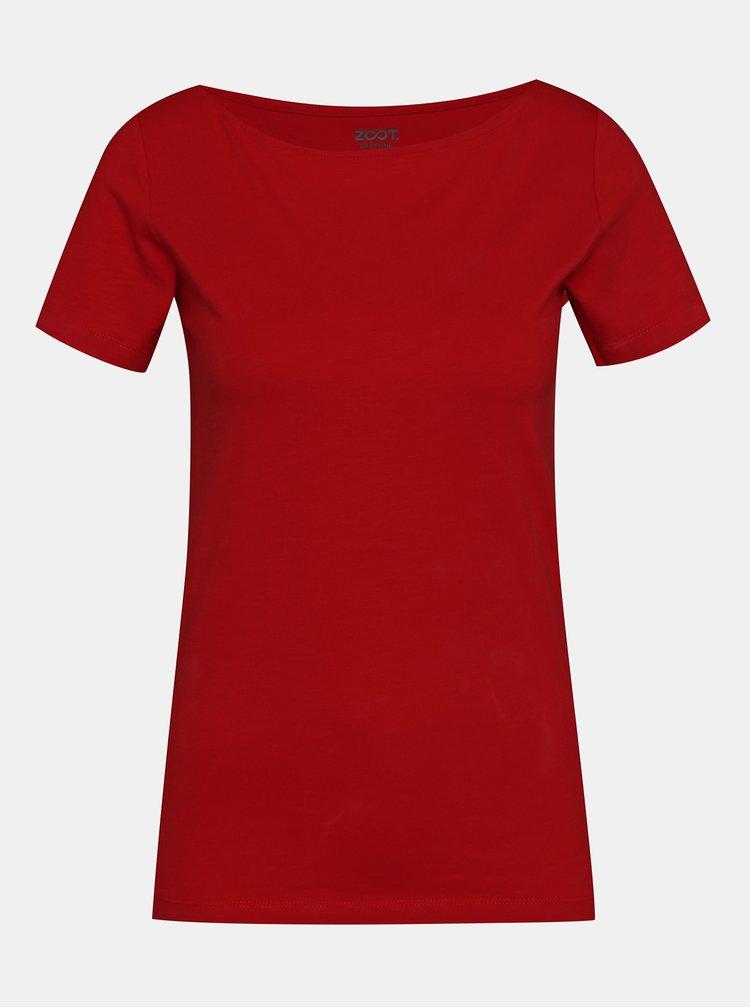 Topuri si tricouri pentru femei ZOOT Baseline - rosu