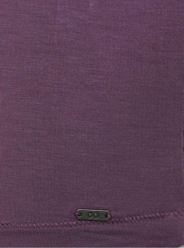 Fialové dámské volné tričko ZOOT Baseline Leticia