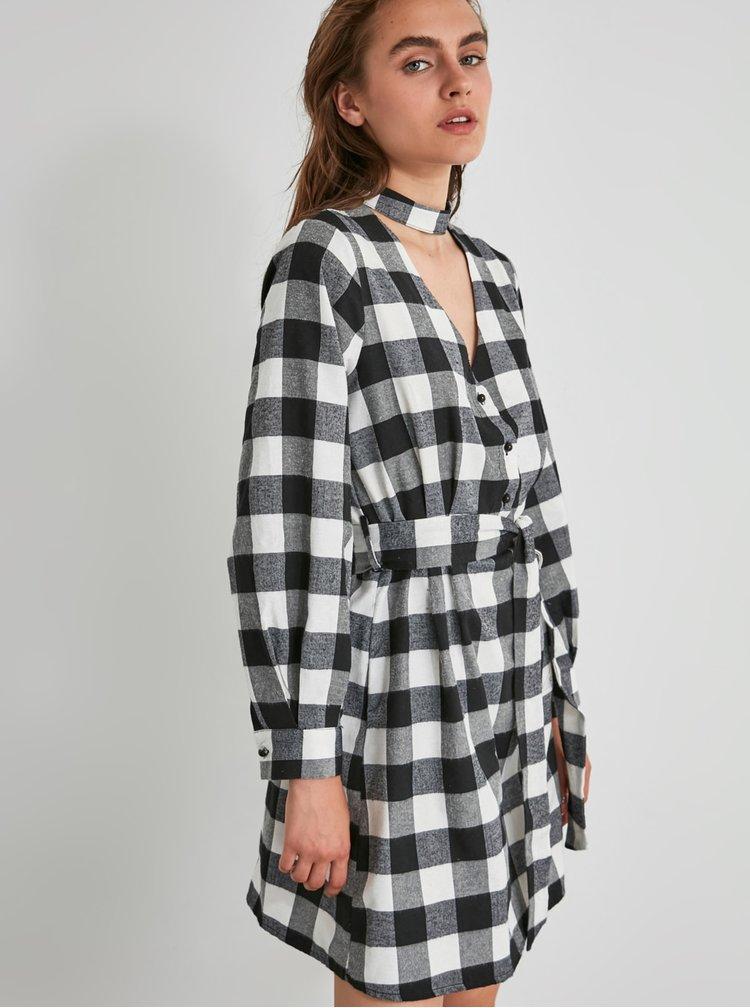Rochii casual pentru femei Trendyol - negru, alb