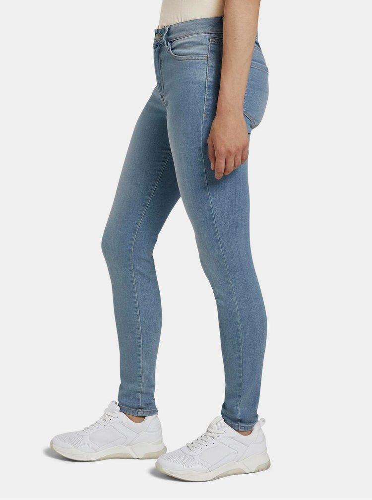 Skinny fit pentru femei Tom Tailor Denim - albastru