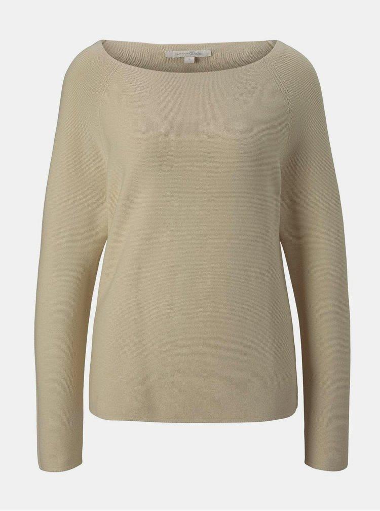 Pulovere pentru femei Tom Tailor Denim - bej