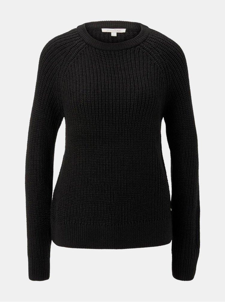 Pulovere pentru femei Tom Tailor Denim - negru
