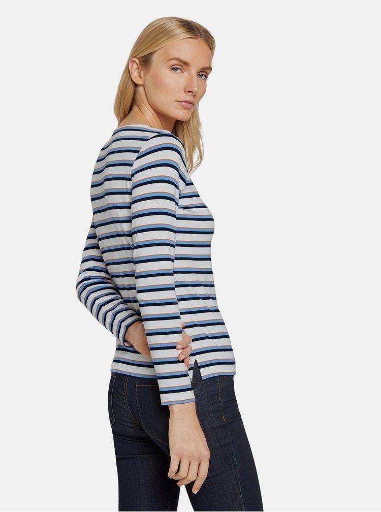 Bluze pentru femei Tom Tailor - albastru, alb