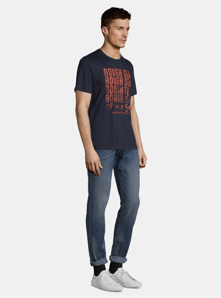 Tricouri pentru barbati Tom Tailor - albastru inchis