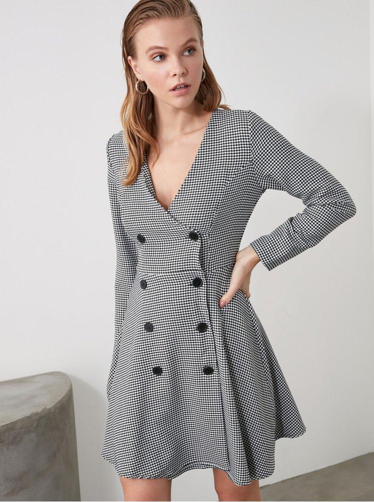 Rochii casual pentru femei Trendyol - alb, negru