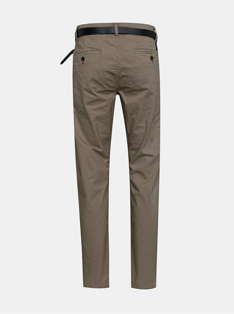 Pantaloni chino pentru barbati Shine Original - bej