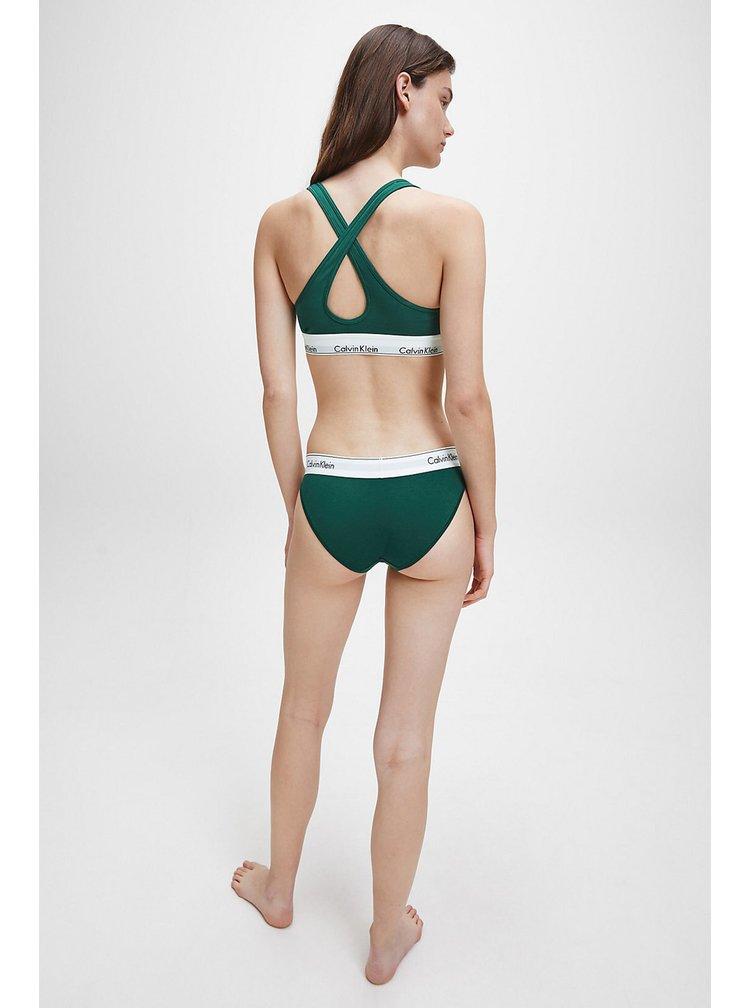 Calvin Klein petrolejové kalhotky Bikini