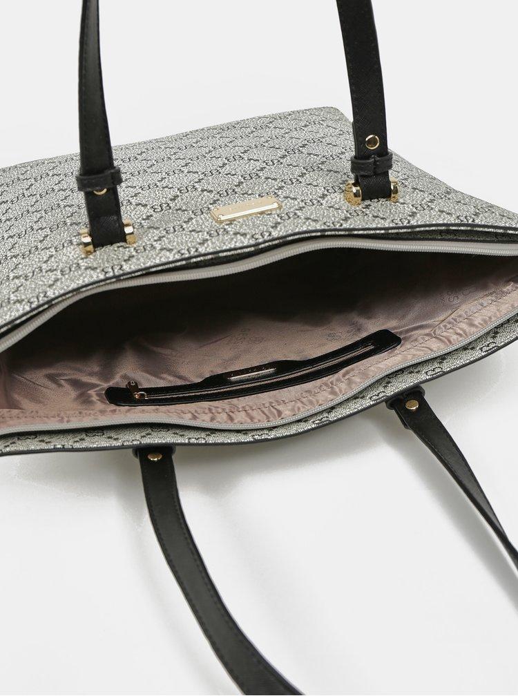 Šedá kabelka s crossbody kabelkou a peněženkou 3v1 Bessie London