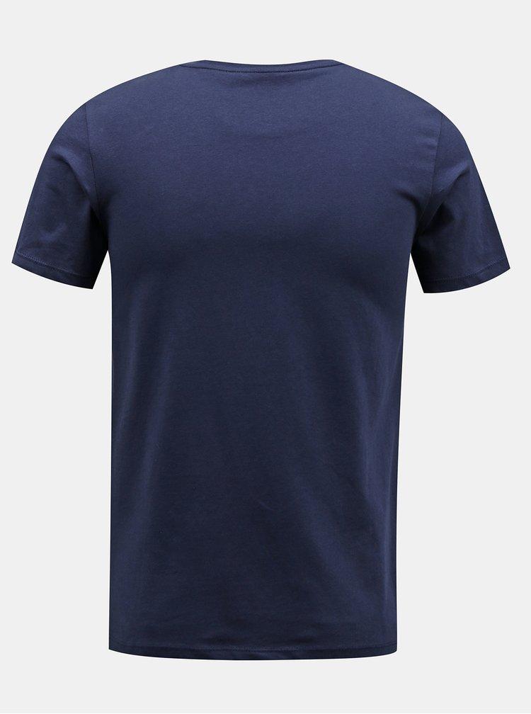 Tmavě modré tričko Jack & Jones Answear