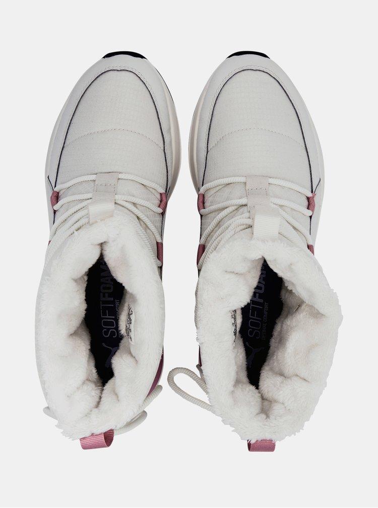 Incaltaminte de iarna pentru femei Puma - crem