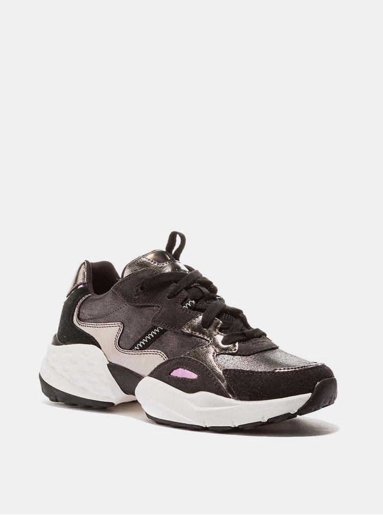 Pantofi sport si tenisi pentru femei Wrangler - gri inchis