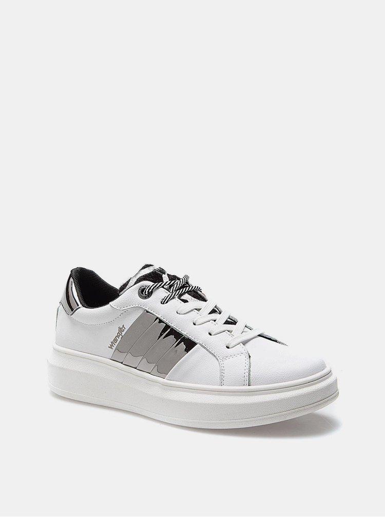 Pantofi sport si tenisi pentru femei Wrangler - alb