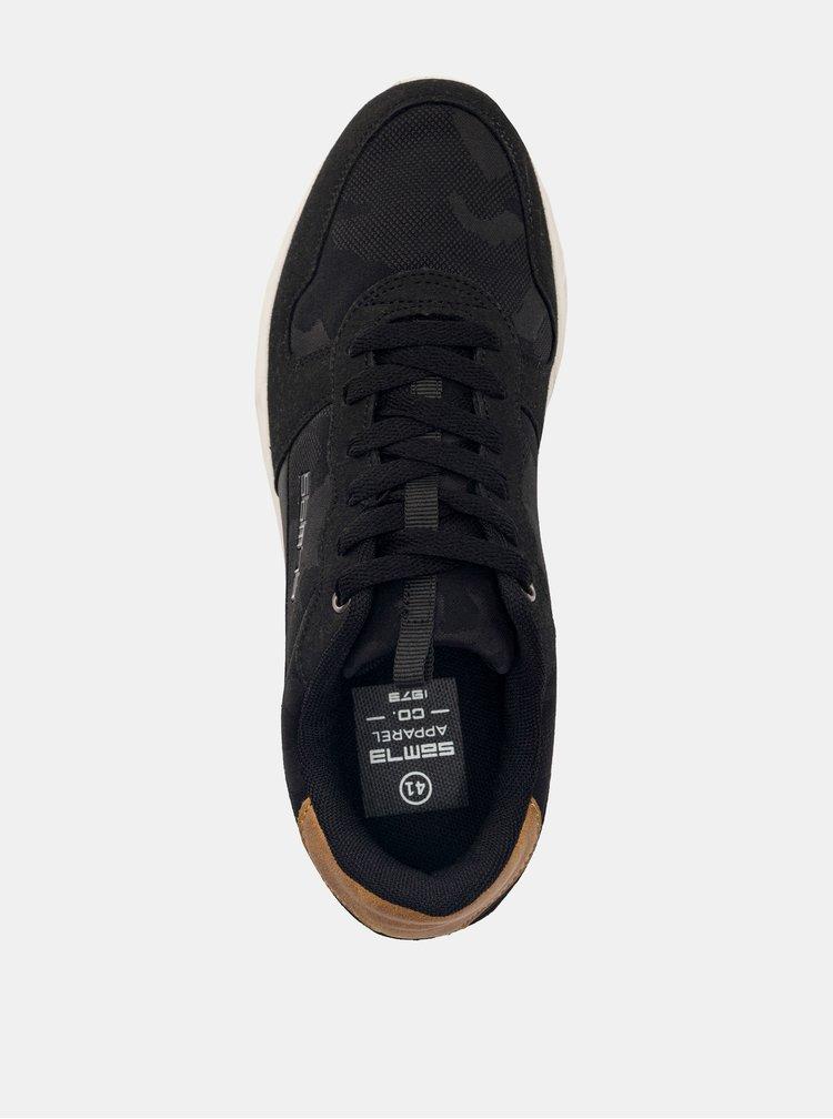 Černé pánské tenisky SAM 73