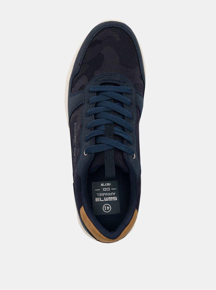 Tmavě modré pánské tenisky SAM 73