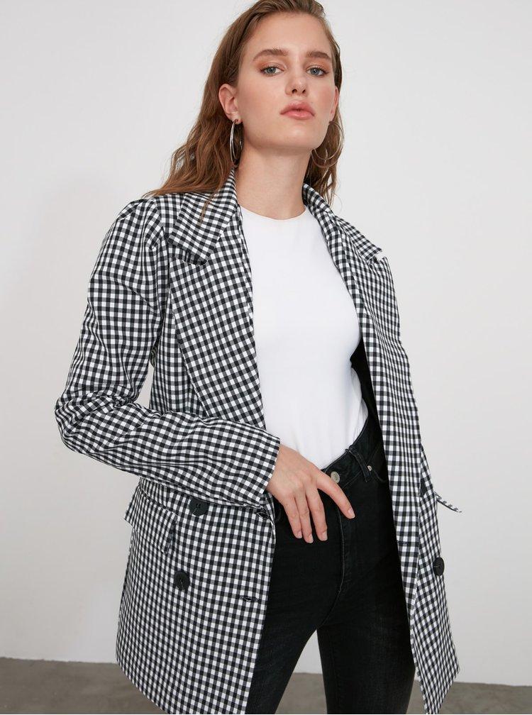 Sacouri si blazere pentru femei Trendyol - gri