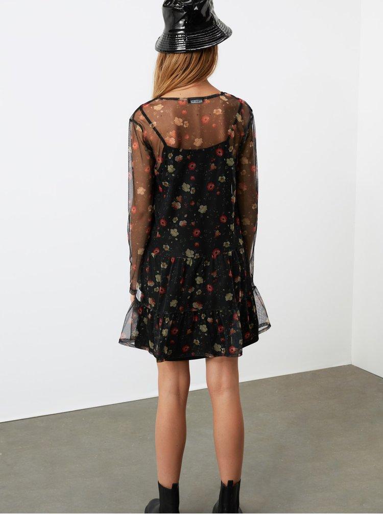 Rochii casual pentru femei Trendyol - negru