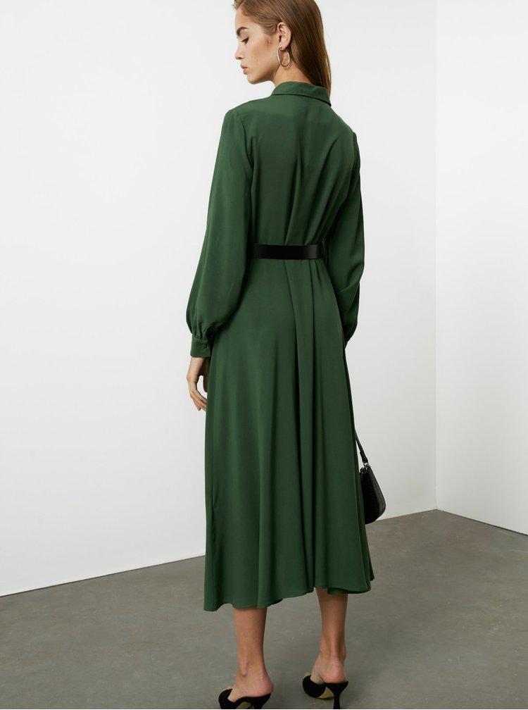 Rochii pentru serviciu pentru femei Trendyol - verde