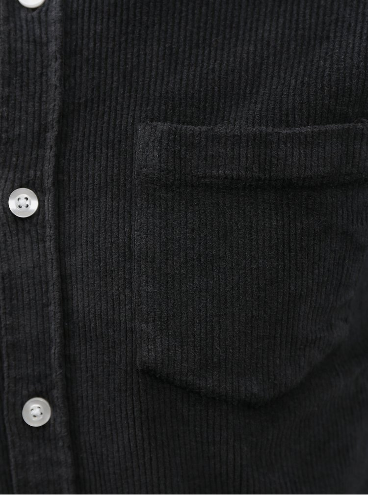 Camasi casual pentru barbati Redefined Rebel - negru