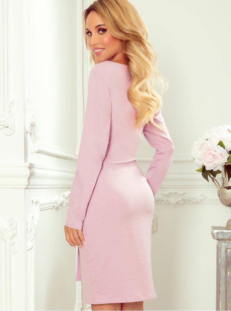 Rochii casual pentru femei numoco - roz
