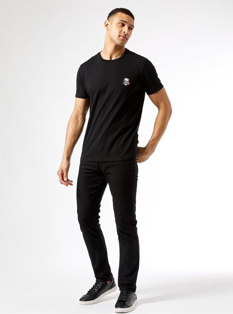 Černé tričko Burton Menswear London