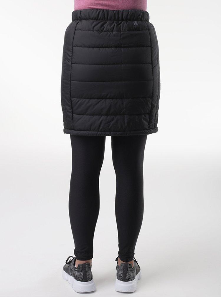 Černá prošívaná sukně LOAP Irunka