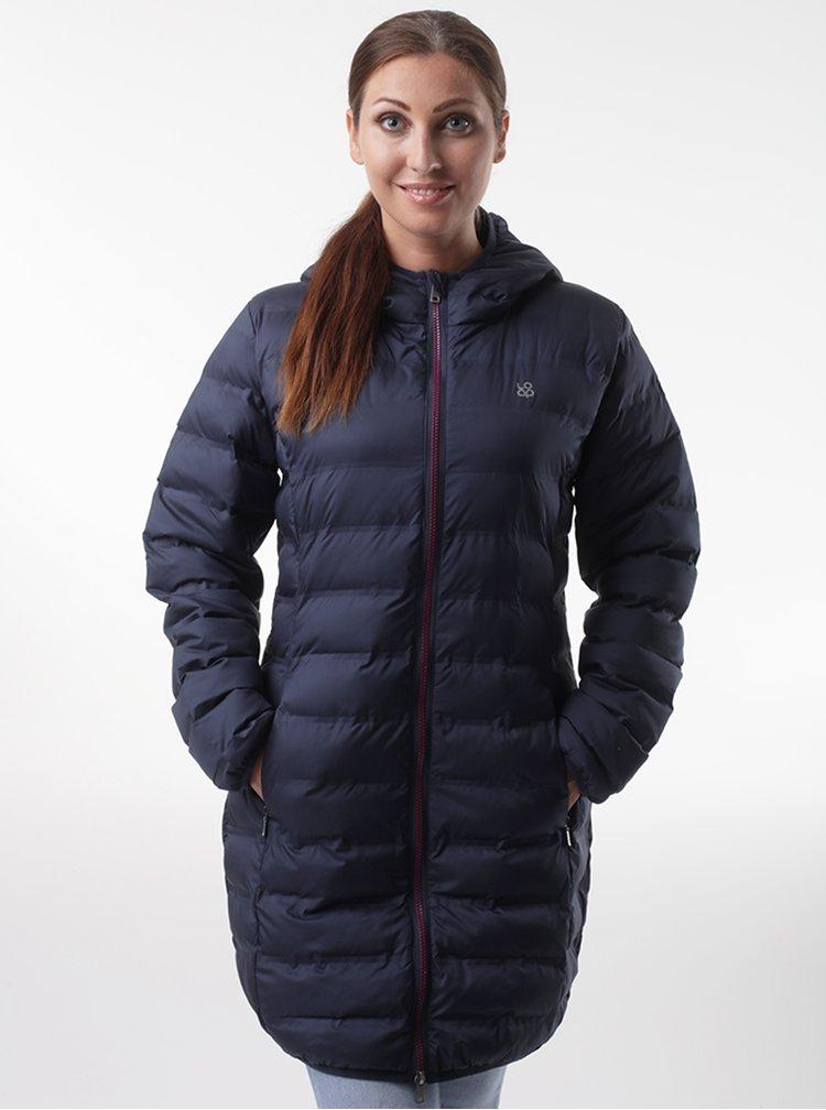 Tmavě modrý dámský prošívaný kabát LOAP Itasia