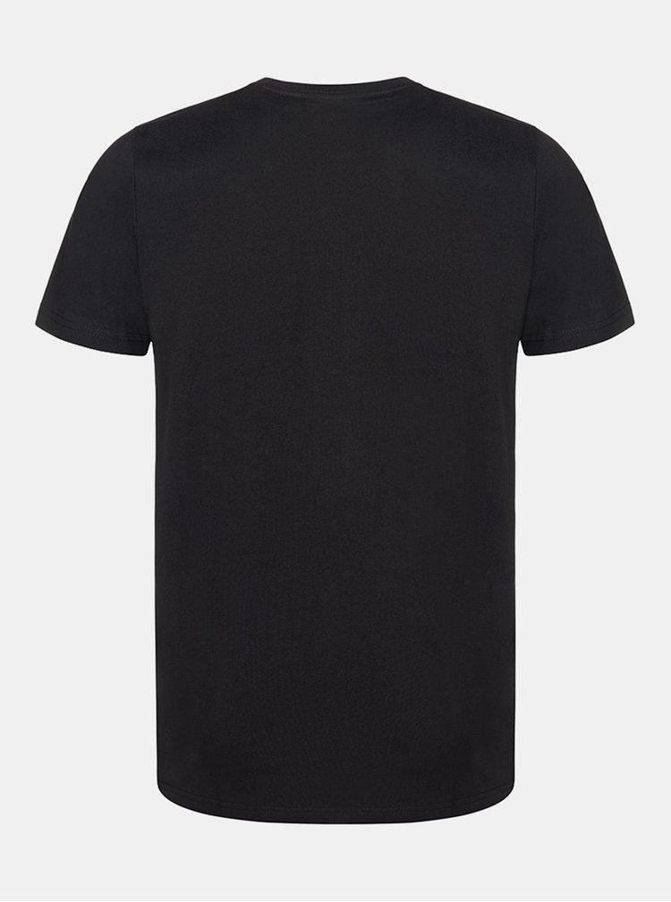 Černé pánské tričko LOAP Bede