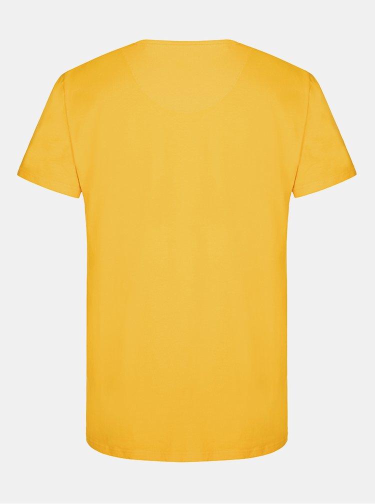 Žluté pánské tričko LOAP Altair