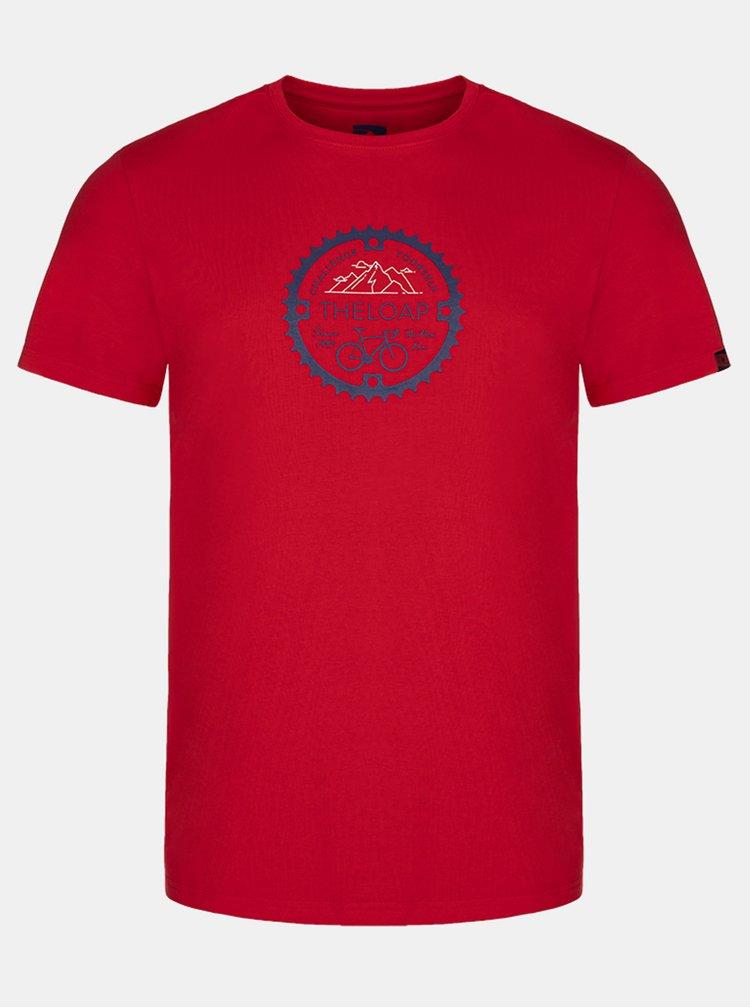 Červené pánské tričko  LOAP Alger