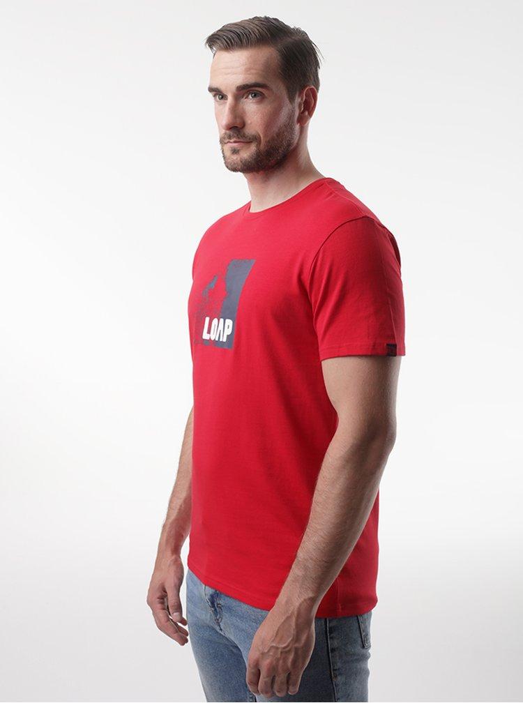Tricouri pentru barbati LOAP - rosu