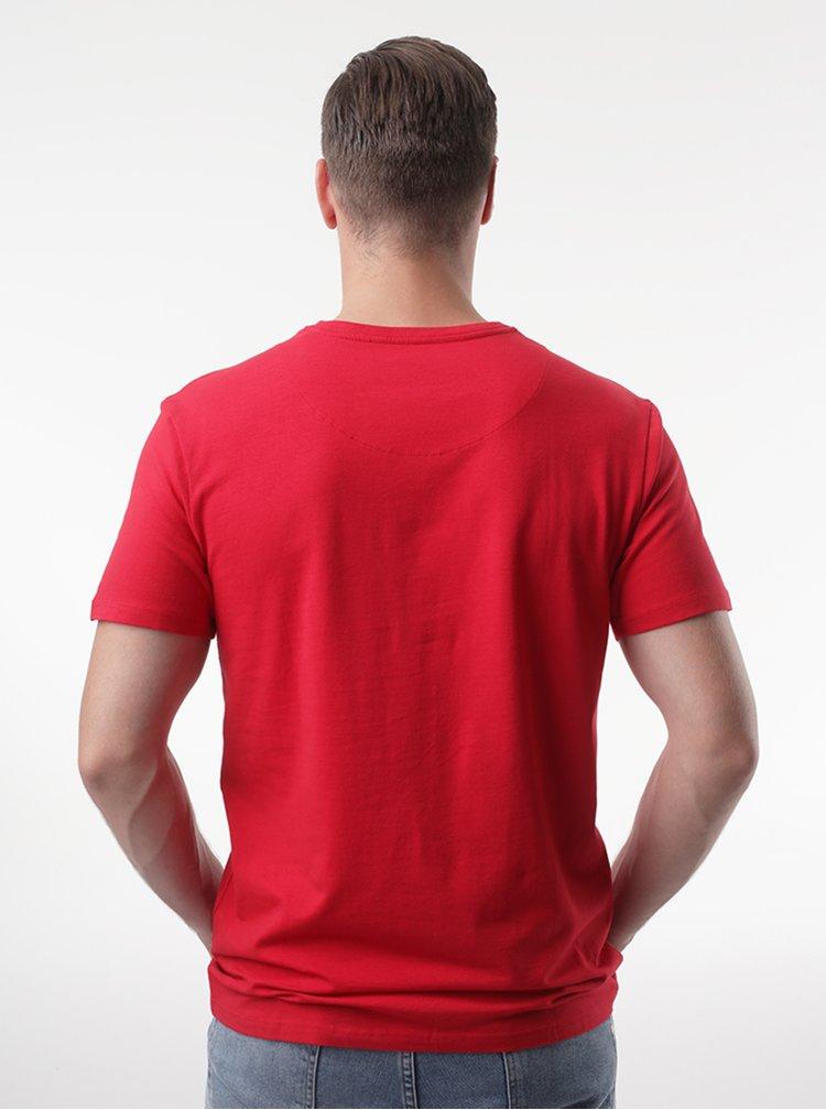 Červené pánské tričko LOAP Alien