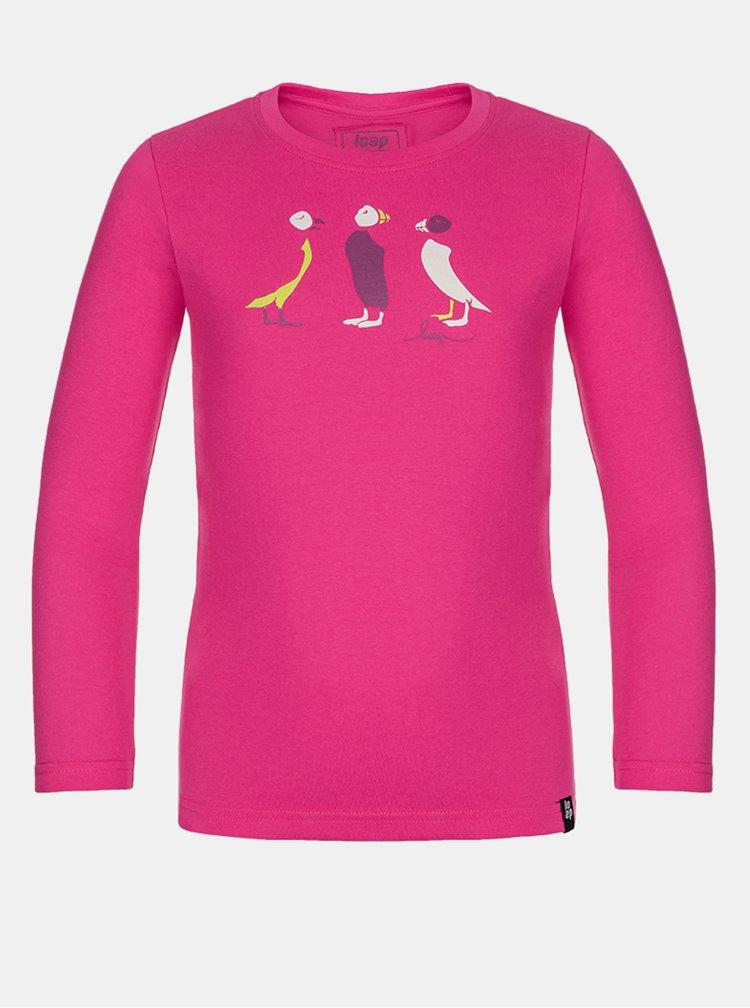Růžové holčičí tričko LOAP Balla