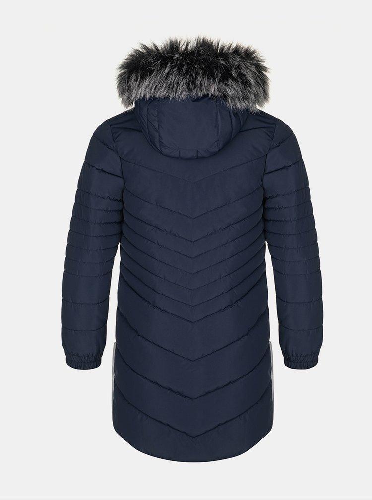 Tmavě modrý holčičí zimní kabát LOAP Okura