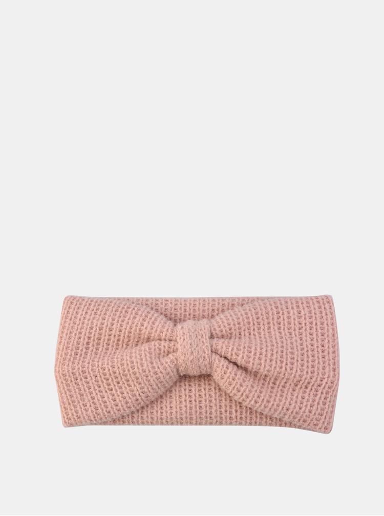 Růžová dámská čelenka Clayre & Eef