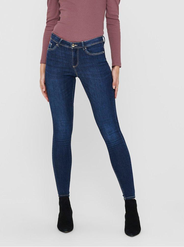 Skinny fit pentru femei ONLY - albastru inchis