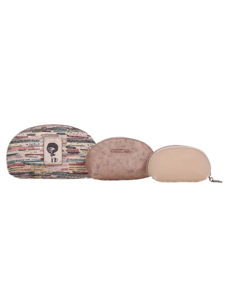 Anekke 3v1 kosmetická taška Jungle