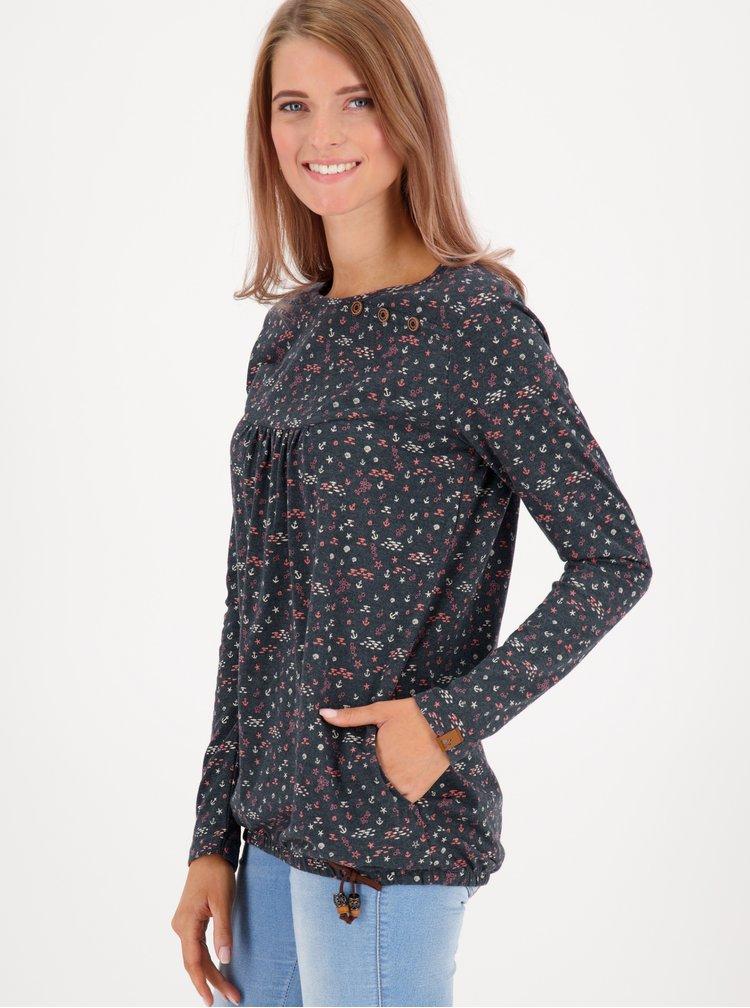 Bluze pentru femei Alife and Kickin - albastru inchis