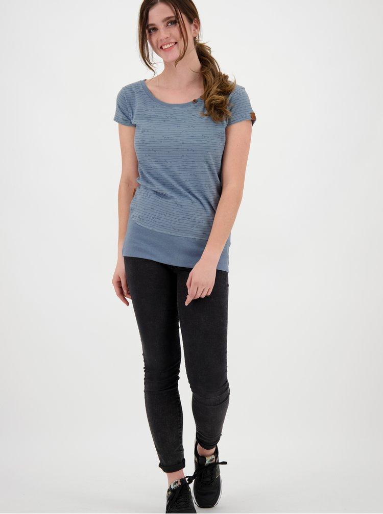 Tricouri pentru femei Alife and Kickin - albastru